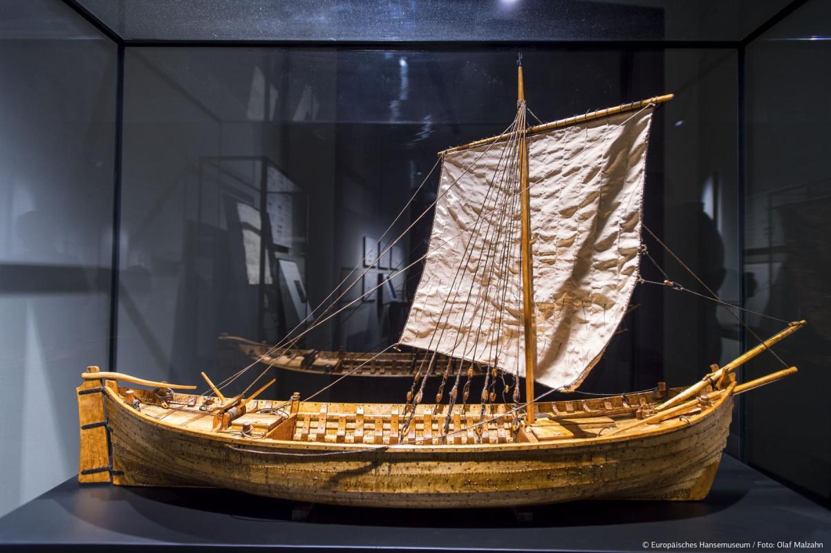 Europäisches Hansemuseum, Kogge-Modell