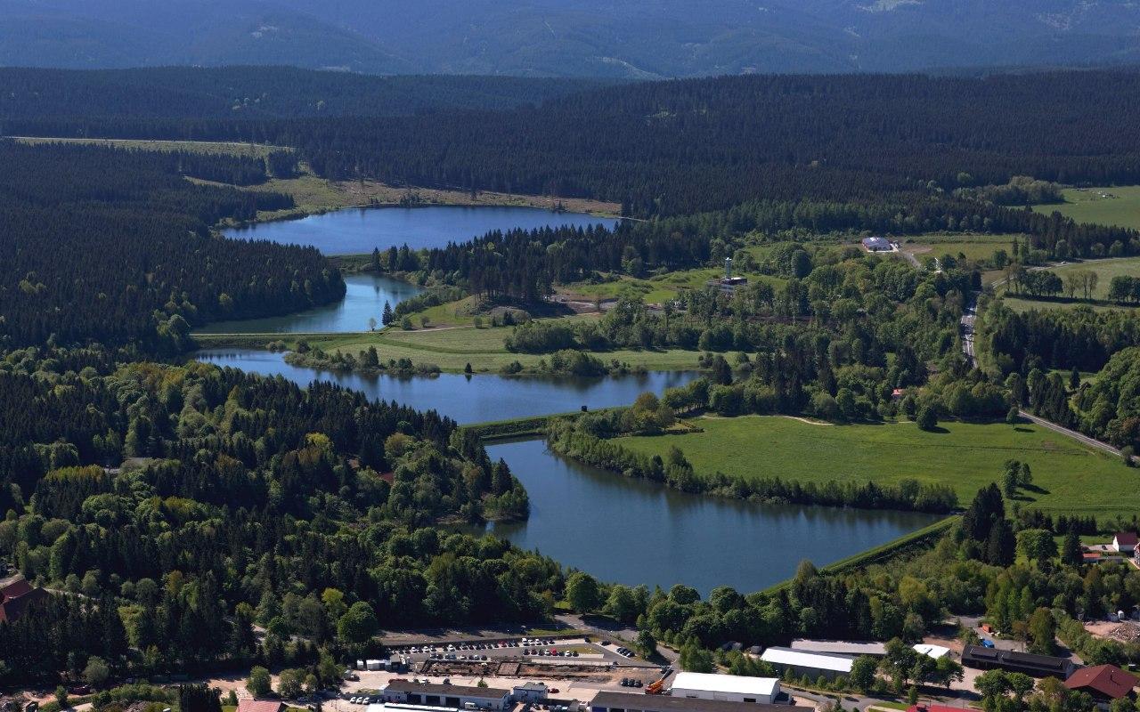 Hirschler-Pfauenteich-Kaskade, Oberharzer Wasserwirtschaft
