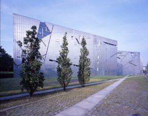 Jüdisches Museum Berlin, Außenansicht Libeskind-Bau