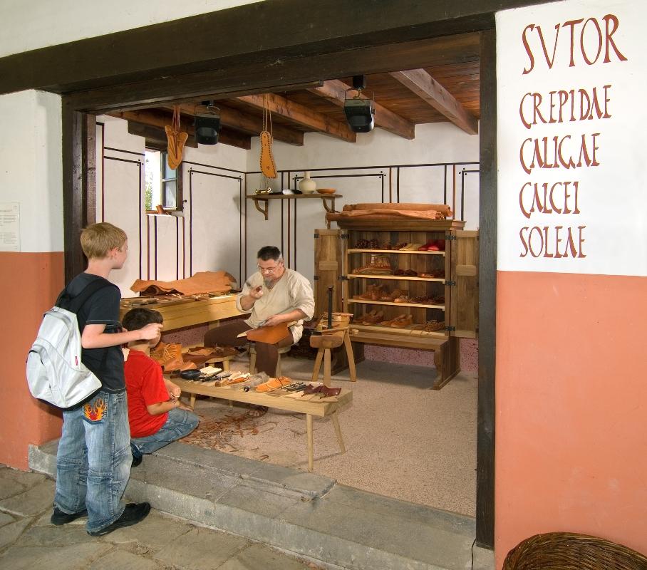 Der LVR-Archäologische Park Xanten, Werkstatt des römischen Schusters