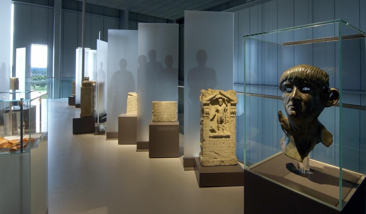 LVR-RömerMuseum Xanten, Innenansicht