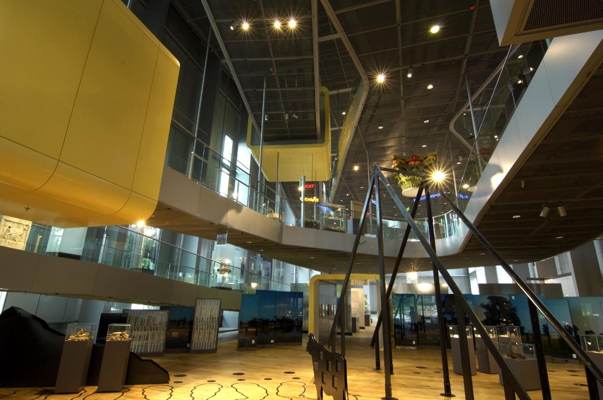 LVR-Römermuseum Xanten, Foyer