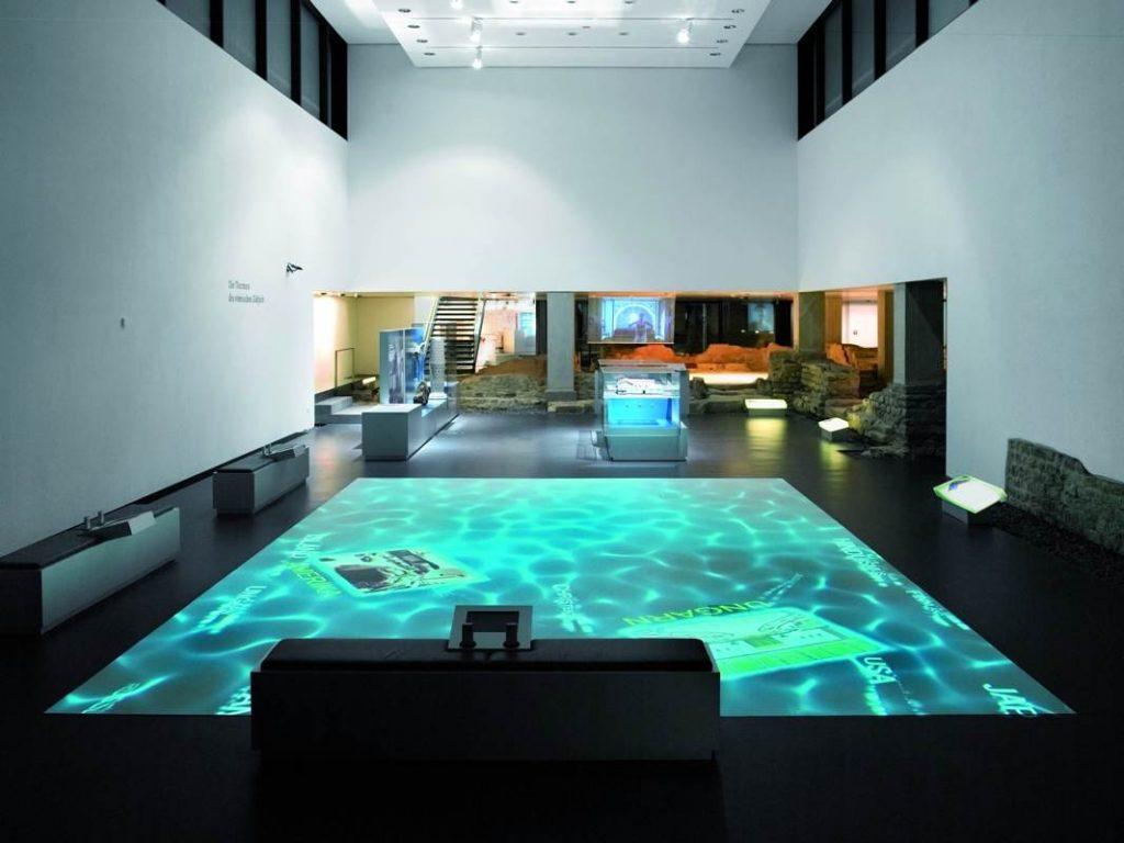 Museum für Badekultur, Blick in die Basilika