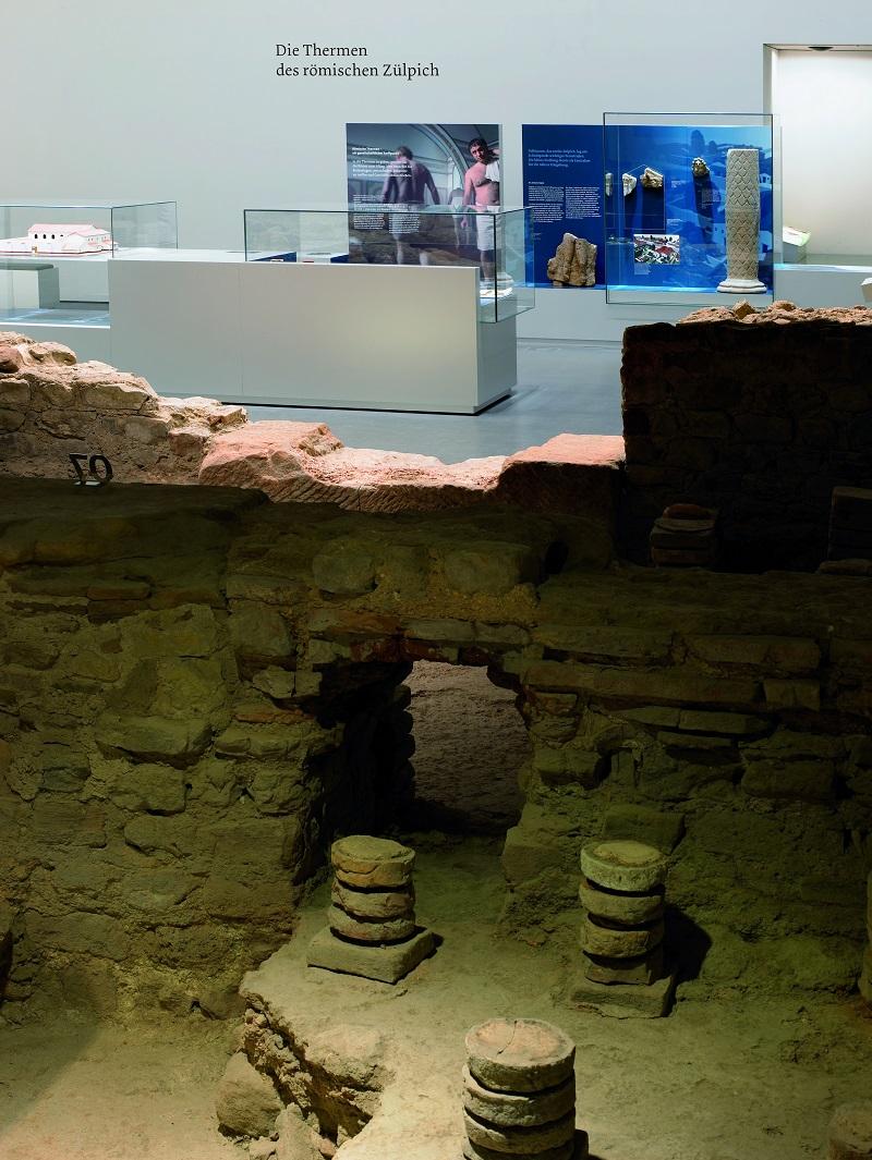 Museum für Badekultur, Reste der Hypokaustenanlage