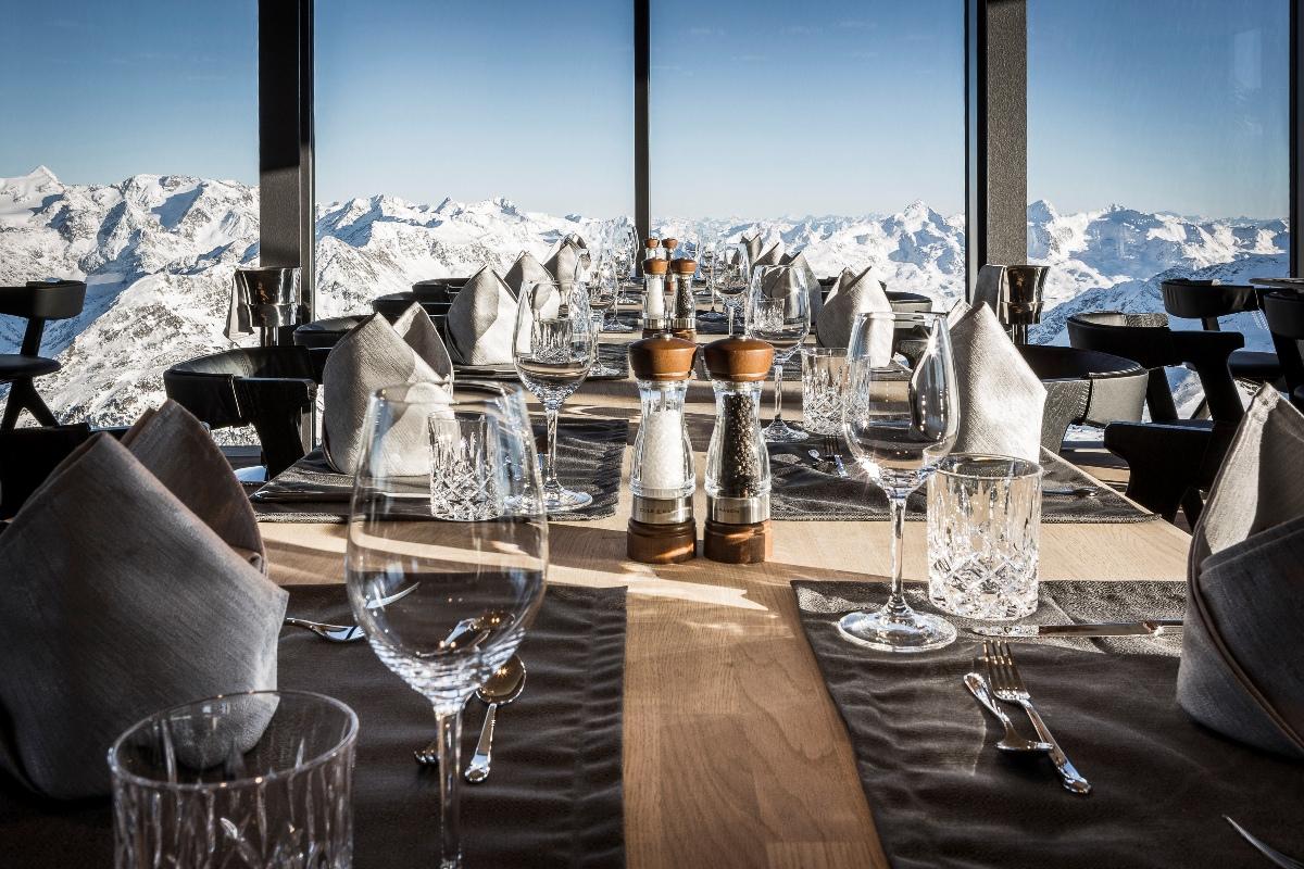 Restaurant ice Q, Sölden