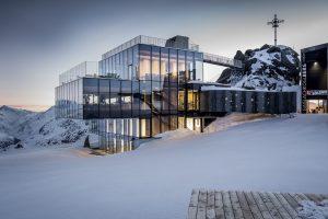 Restaurant ice Q in Sölden: Fine Dining auf 3000 Metern Höhe
