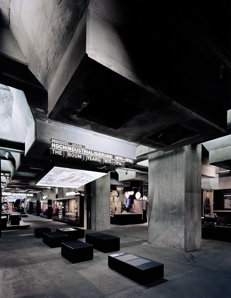 Ruhr Museum, Dauerausstellung 6m-Ebene, Hochindustrialisierung Einblick