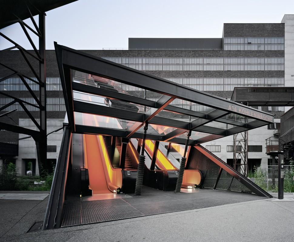 Ruhr Museum, Kohlenwäsche Gangway Rolltreppe