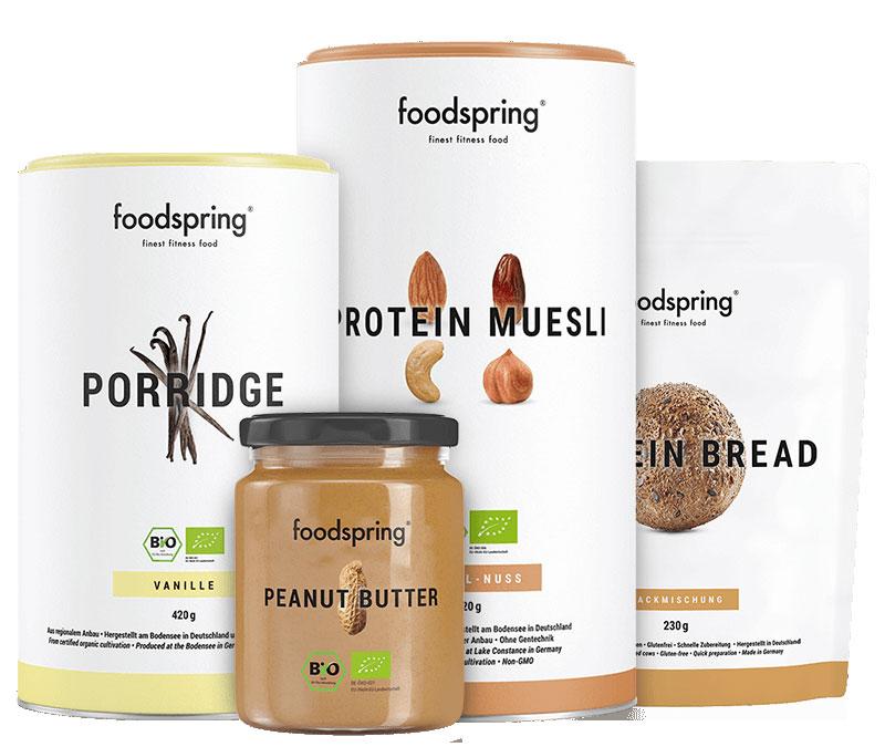 Foodspring Frühstücks Paket