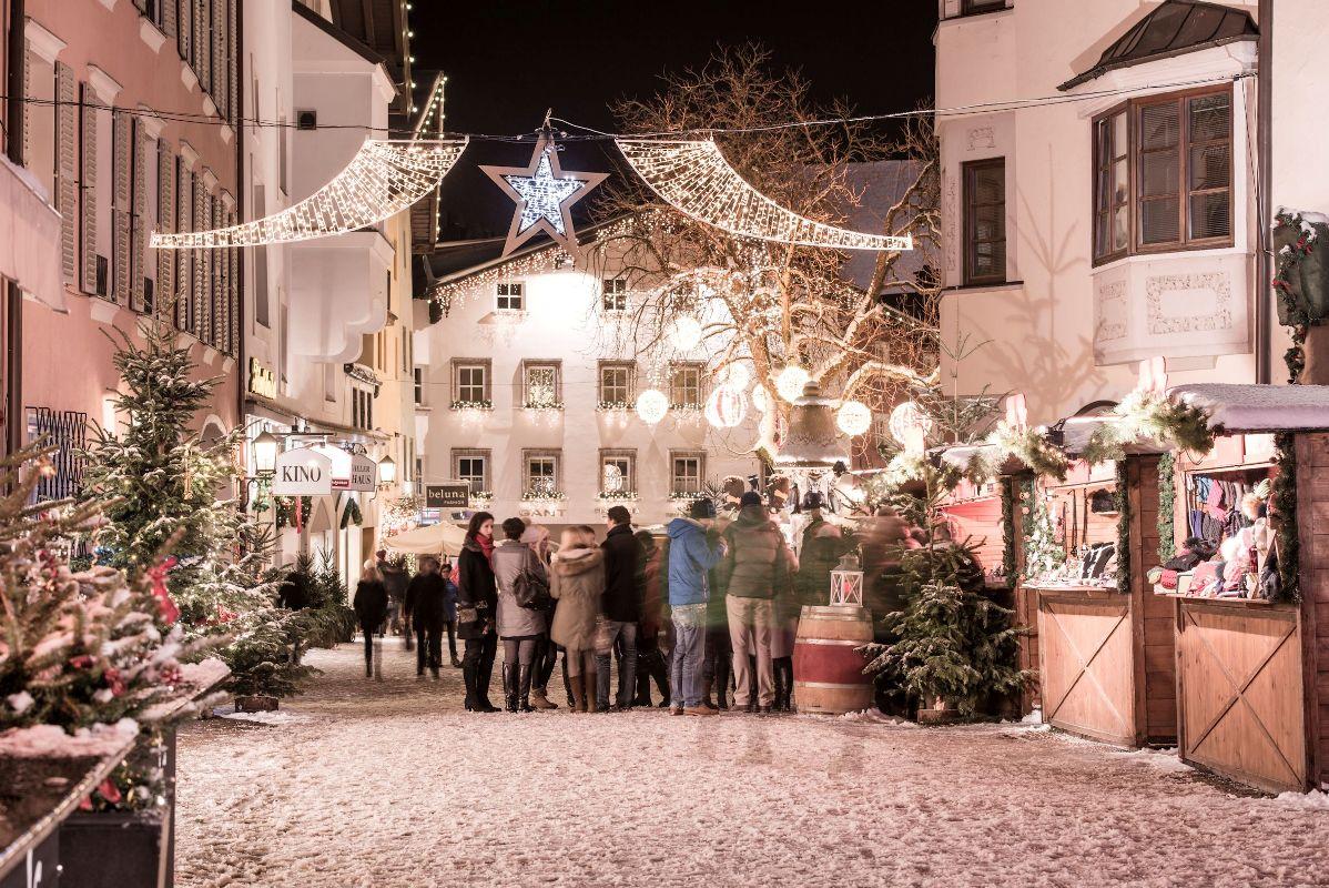 Adventsmarkt in der Altstadt, Kitzbühel - Weihnachtsmärkte in Österreich