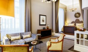 Juniorsuite im Hotel Schloss Bensberg