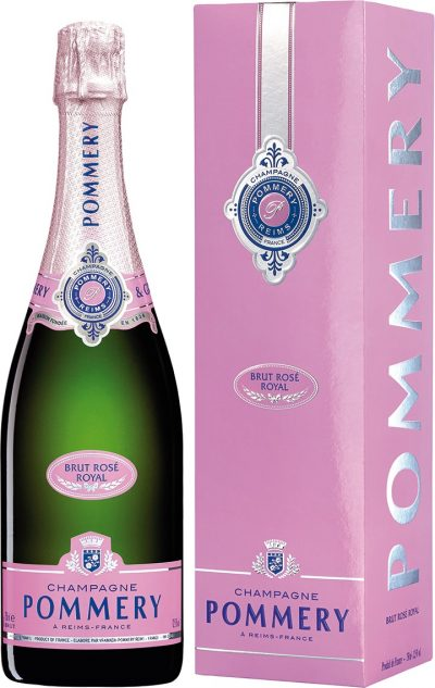Champagne Pommery Rose