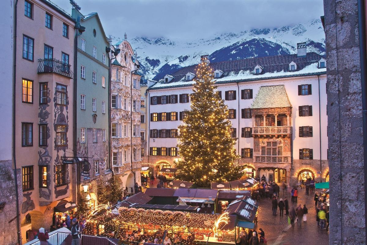 Christkindlmarkt in der Altstadt, Innsbruck - Weihnachtsmärkte in Österreich