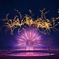 Internationaler Feuerwerkswettbewerb Hannover 2018