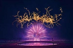 Internationaler Feuerwerkswettbewerb 2018 in Hannover