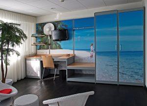 """Themenzimmer """"Raffaello"""" im food hotel Neuwied"""