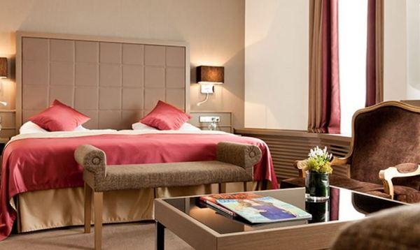 Deluxe Zimmer im Hotel am Schlossgarten Stuttgart