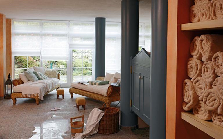 Wellnessbereich im Hotel Villino in Lindau am Bodensee