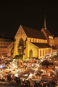 Basler Weihnachtsmarkt am Barfüsser Platz - Weihnachtsmärkte in der Schweiz