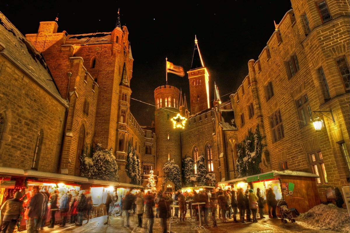 Königlicher Weihnachtsmarkt auf der Burg Hohenzollern - Weihnachtsmärkte