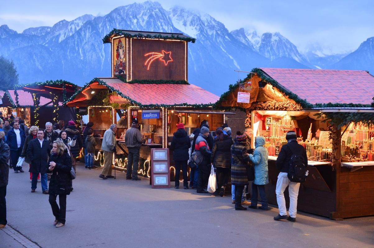 Weihnachtsmarkt in Montreux
