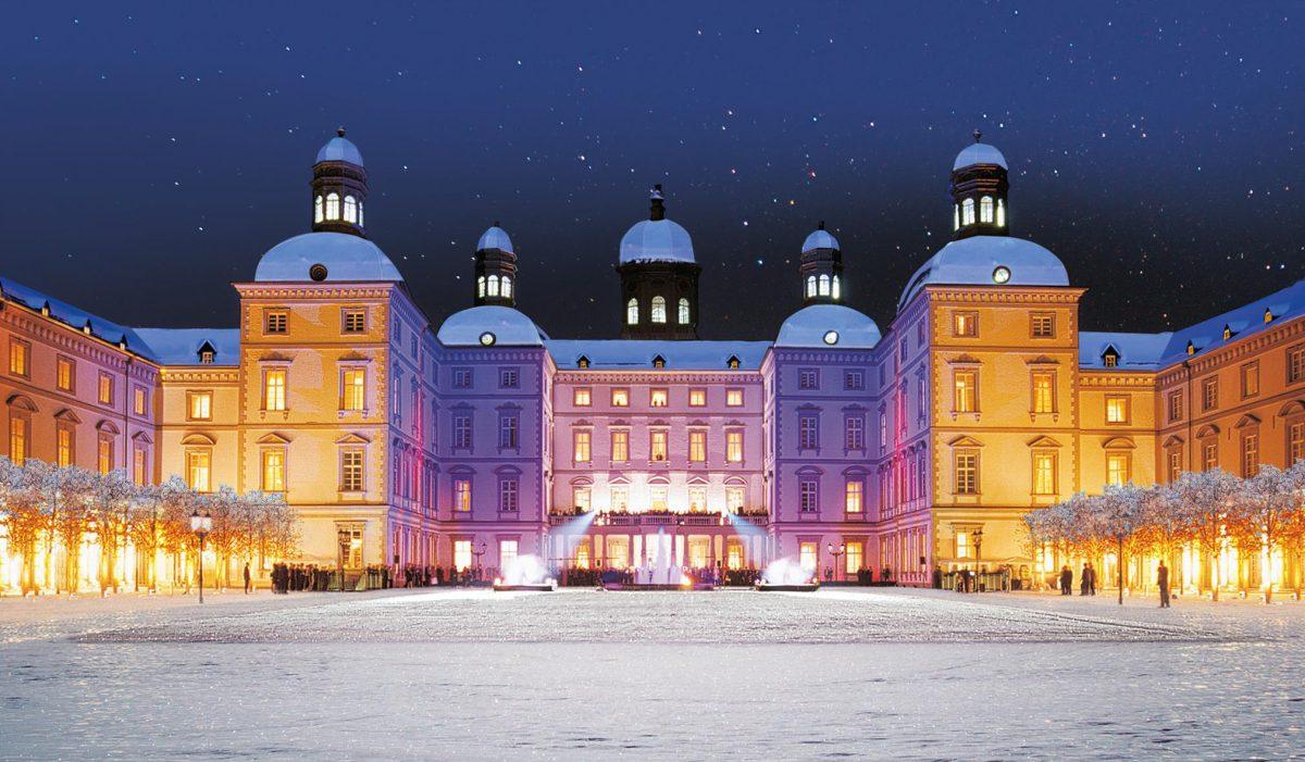 Winterliches Schloss Bensberg