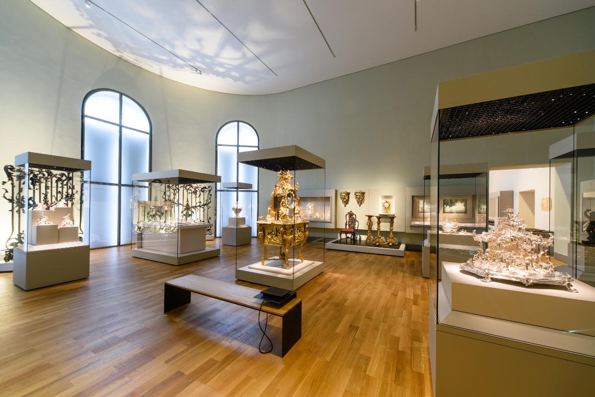Bayerisches Nationalmuseum (Saal 37) Barock und Rokoko Gestaltete Natur: Garten und Ornament im 18. Jahrhundert