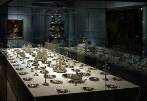 Bayerisches Nationalmuseum (Saal 91) Das Tafelservice des Hildesheimer Fürstbischofs Friedrich Wilhelm von Westphalen Augsburg, um 1760