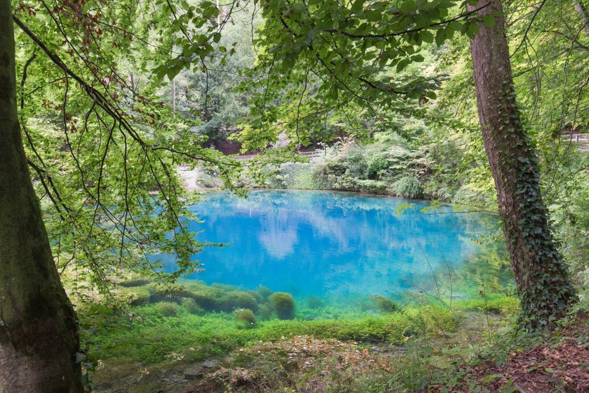 Blautopf bei Blaubeuren, beeindruckende Orte