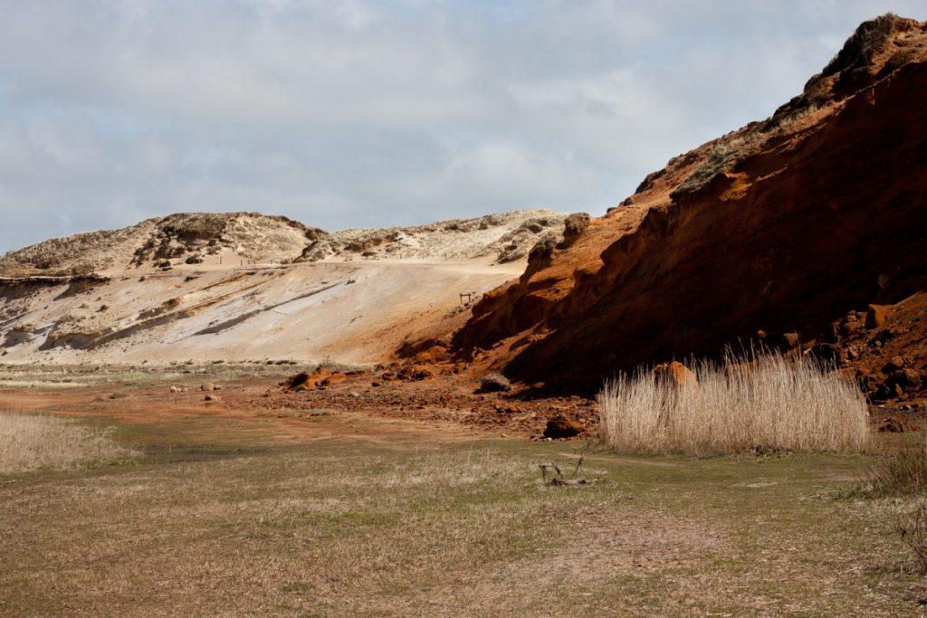 Morsum-Kliff auf Sylt, beeindruckende Orte
