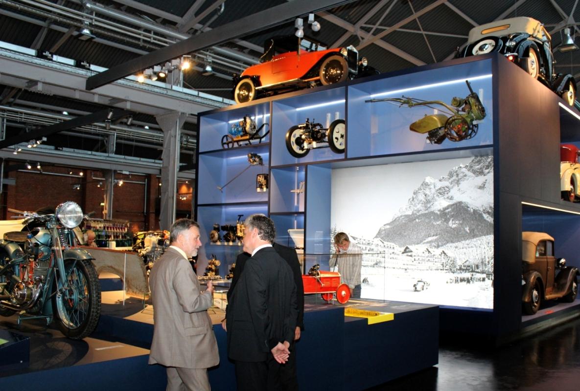 Ausstellungseröffnung im Industriemuseum