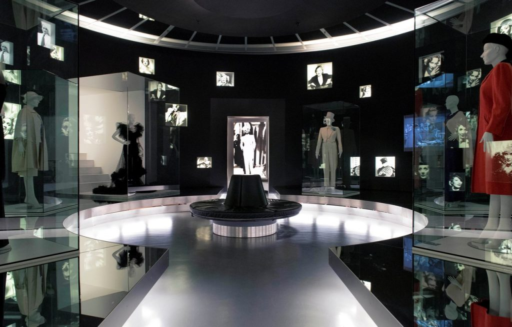 """Ständige Ausstellung, """"Marlene Dietrich"""", Museum für Film und Fernsehen"""