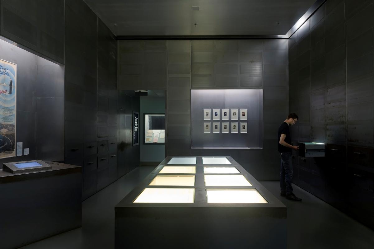 """Ständige Ausstellung, """"Nationalsozialismus"""", Museum für Film und Fernsehen"""