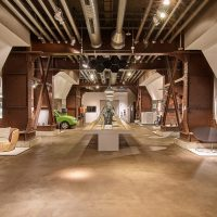 Fundamenthalle im Red Dot Design Museum Essen