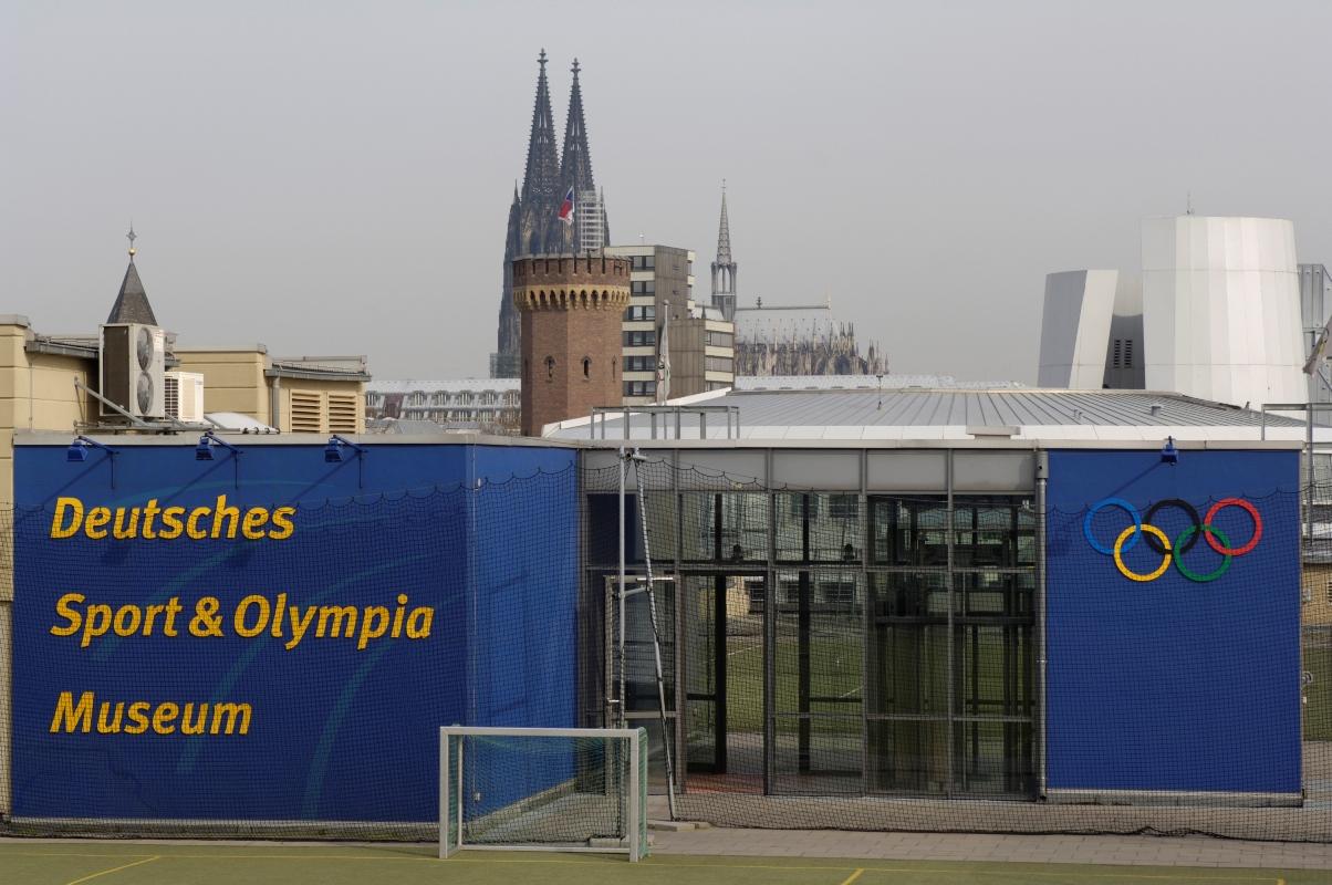 Sportplätze auf dem Dach