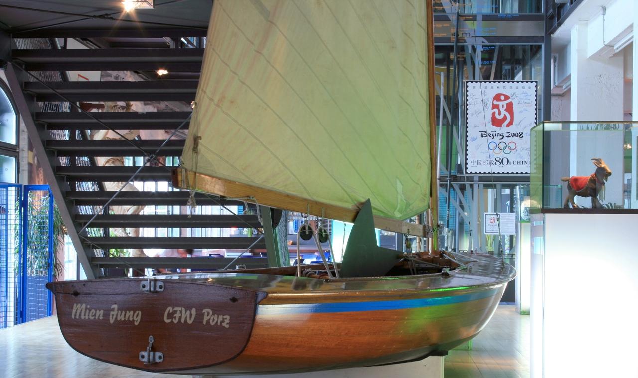Foyer im Deutschen Sport & Olympia Museum ©