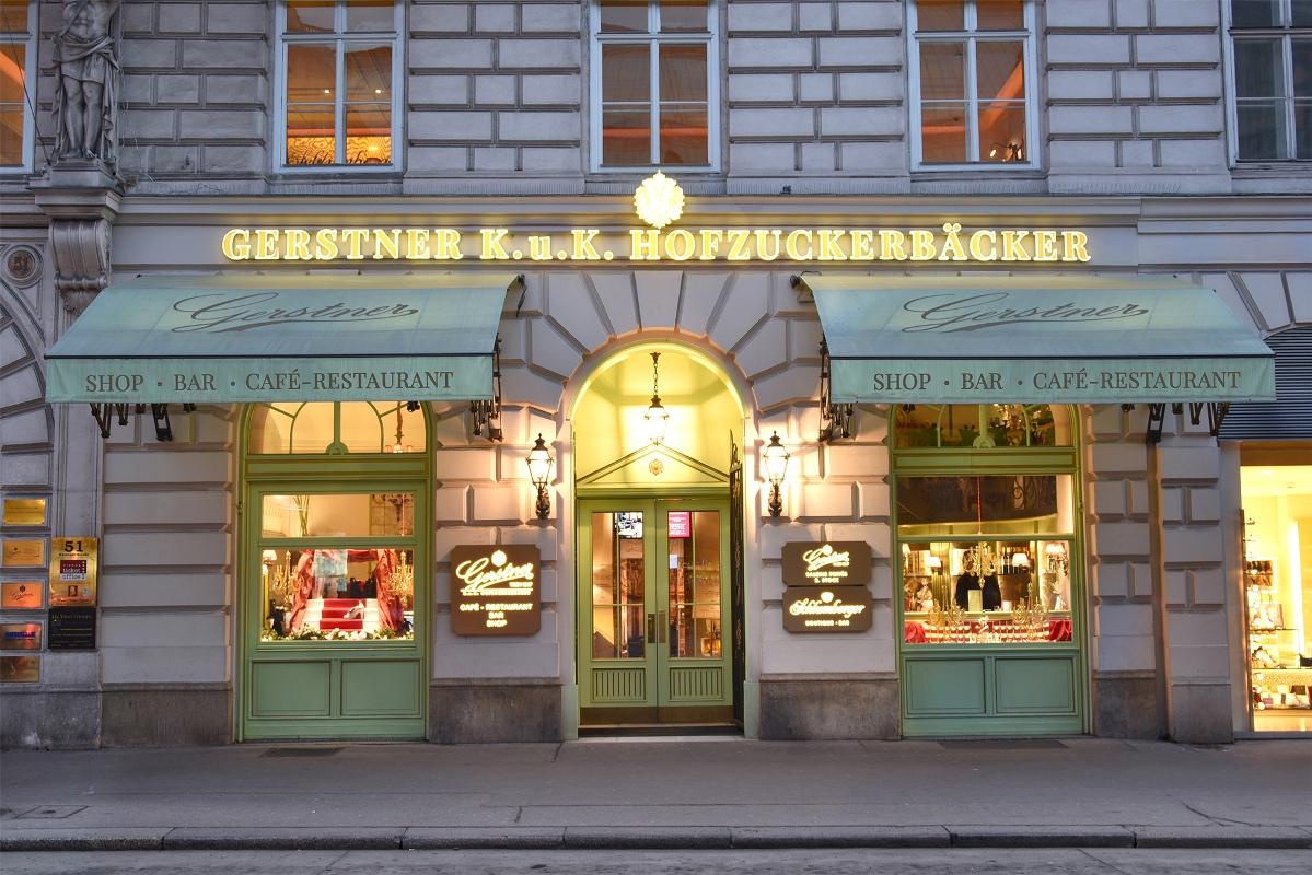 Café Gerstner K.u.K Hofzuckerbäcker - Kaffeehäuser Wien