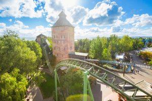 """Achterbahn """"Fluch von Novgorod"""" im Hansa-Park - Freizeitparks"""