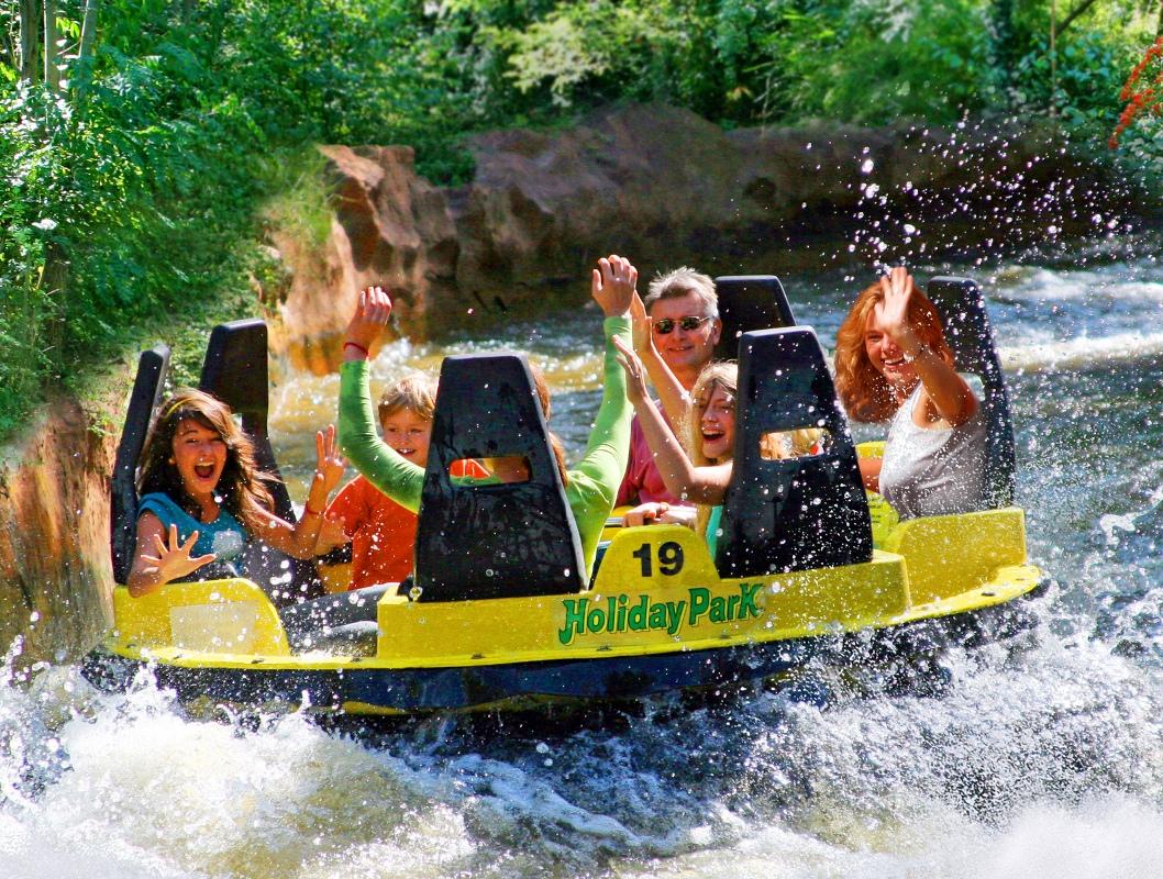 Donnerfluss im Holiday Park - Freizeitparks