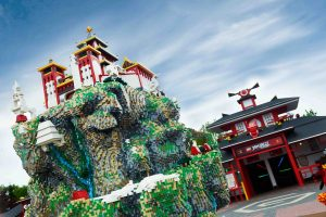 Ninjago-World-Model im LEGOLAND