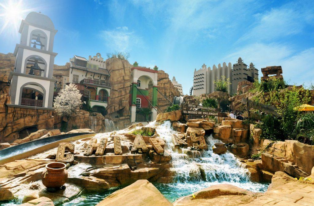 Chiapas - Die Wasserbahn im Phantasialand - Freizeitparks
