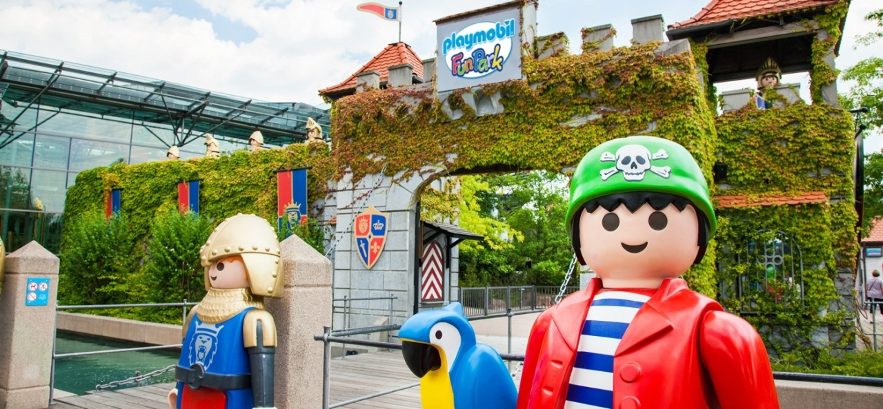 Eingang Playmobil FunPark - Freizeitparks