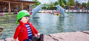 Paddelsee im Playmobil FunPark - Freizeitparks