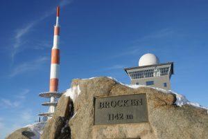 Brocken-Gipfel - Harzer Hexen-Stieg