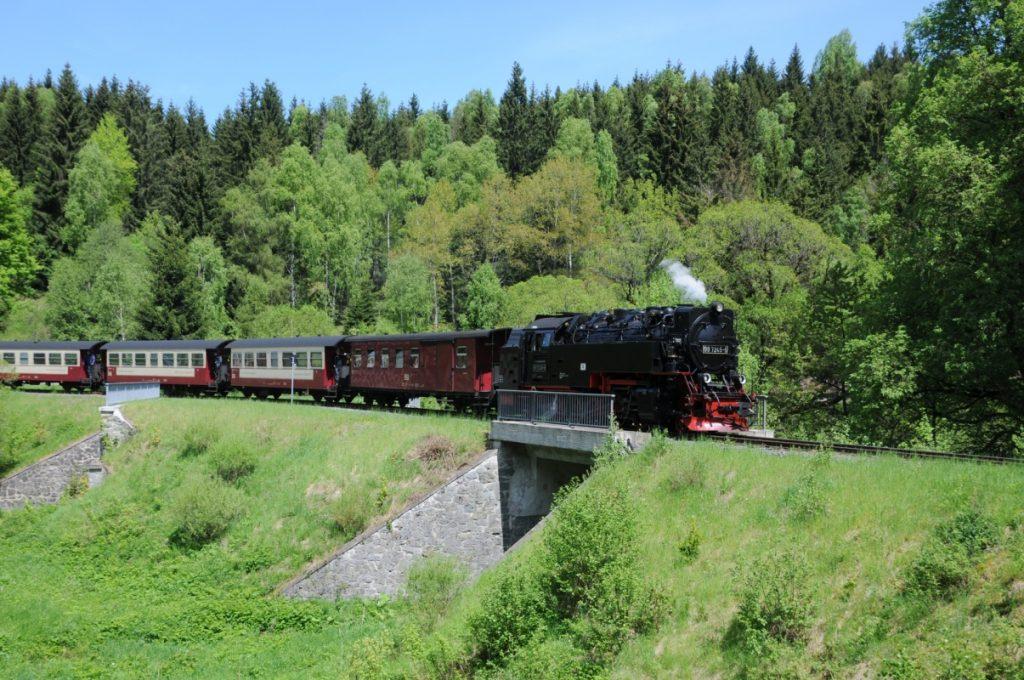 Brockenbahn im Harz - Harzer Hexen-Stieg