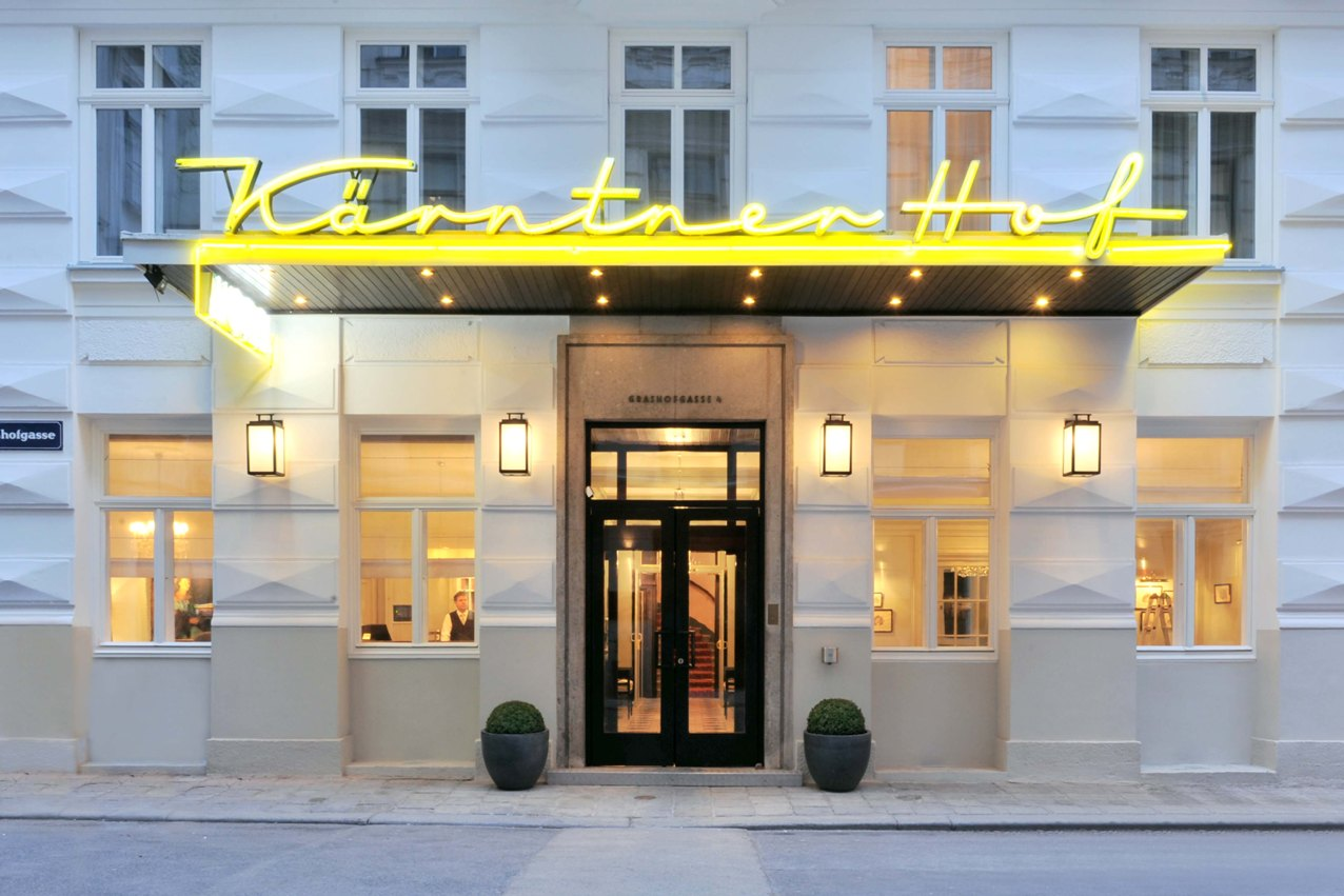 Gründerzeitfassade Hotel Kärntnerhof Wien