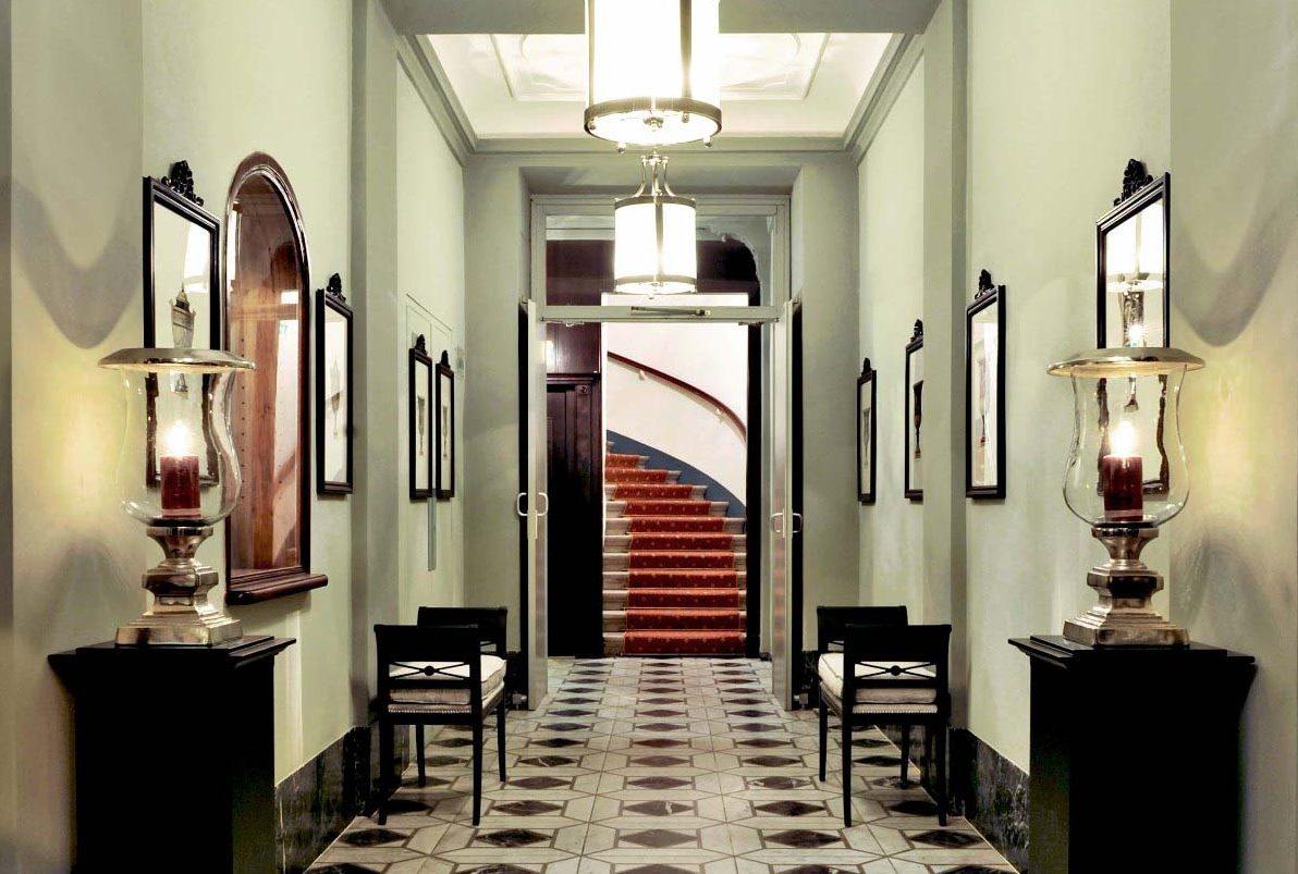 Flur im Hotel Kärntnerhof in Wien
