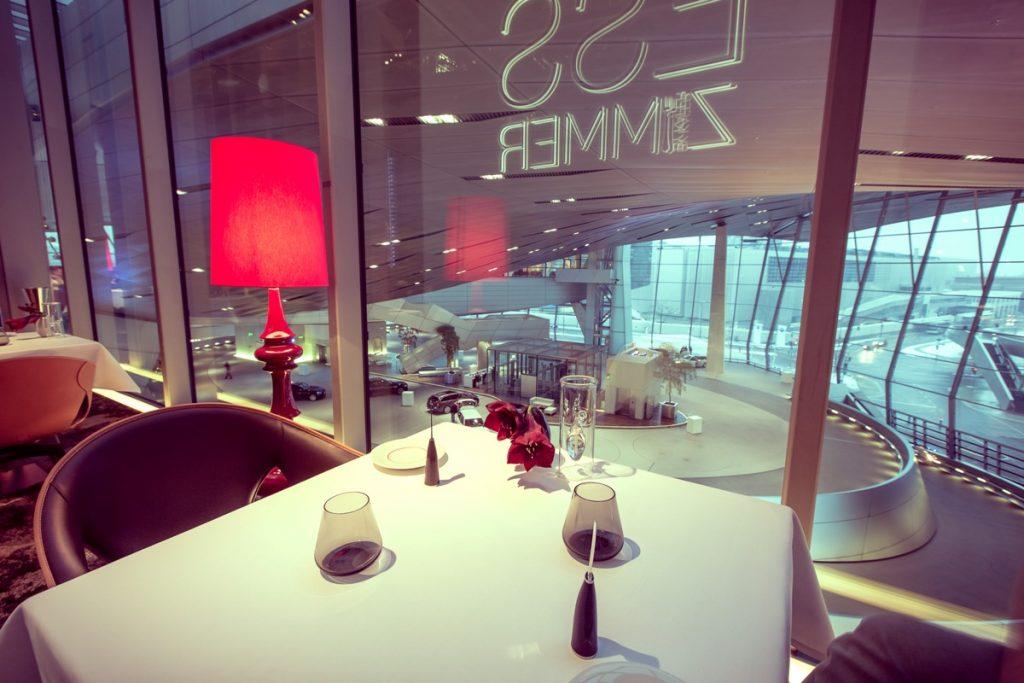Restaurant Esszimmer in der BMW-Welt - Mobil und Genuss