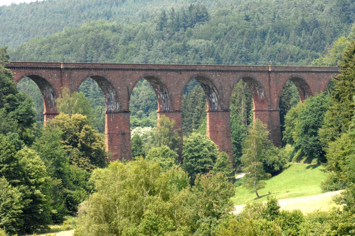 Himbächel-Viadukt - Nibelungensteig