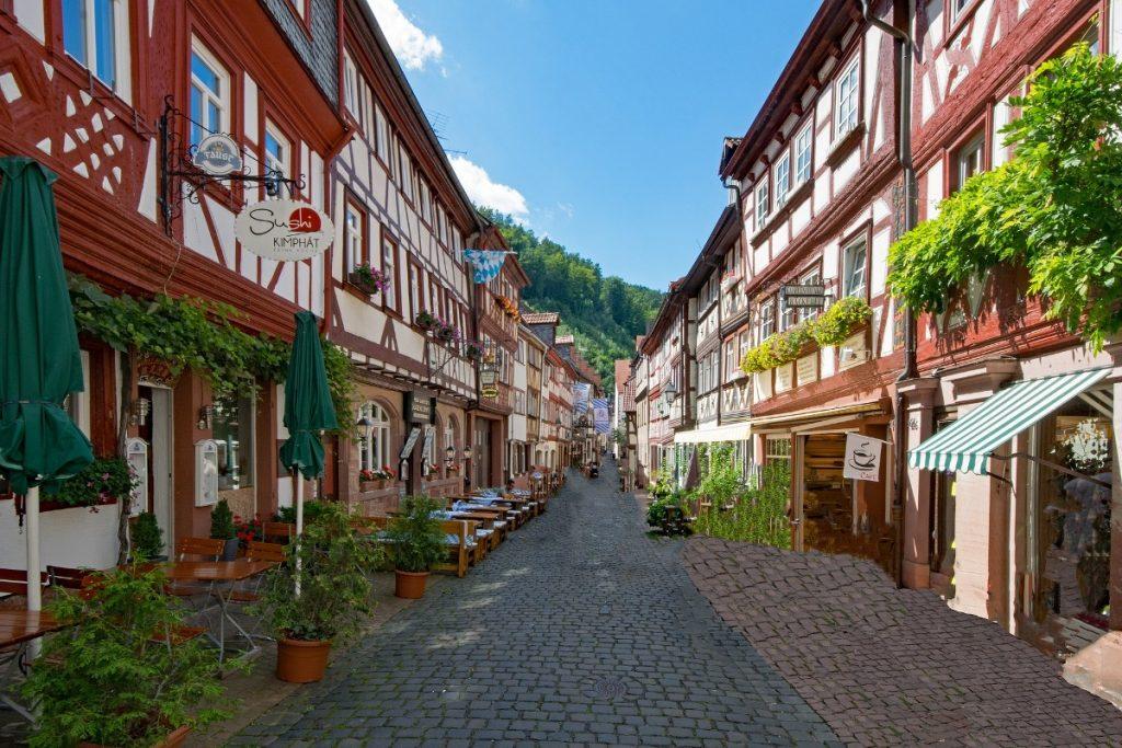 Miltenberg Altstadt - Nibelungensteig